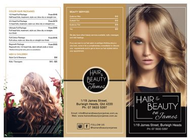 Hair and Beauty – James Street
