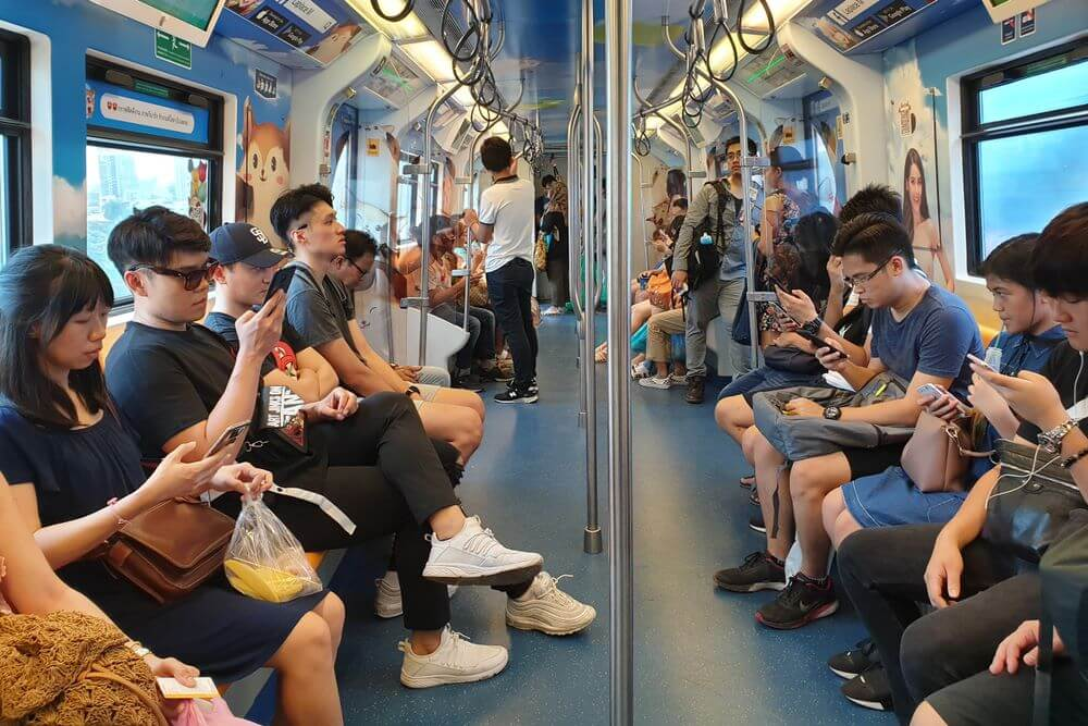 Rapid Increase of Mobile Usage