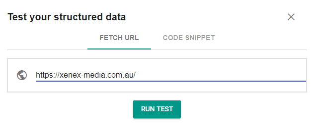 Google's Structured Data Tester